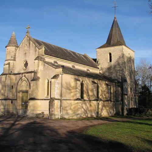 Église Saint-Denis à Urzy ©Chau7