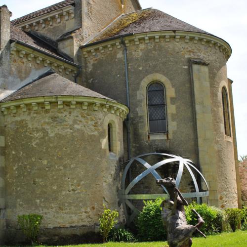 Art contemporain Eglise Nannay ©Pays Charitois