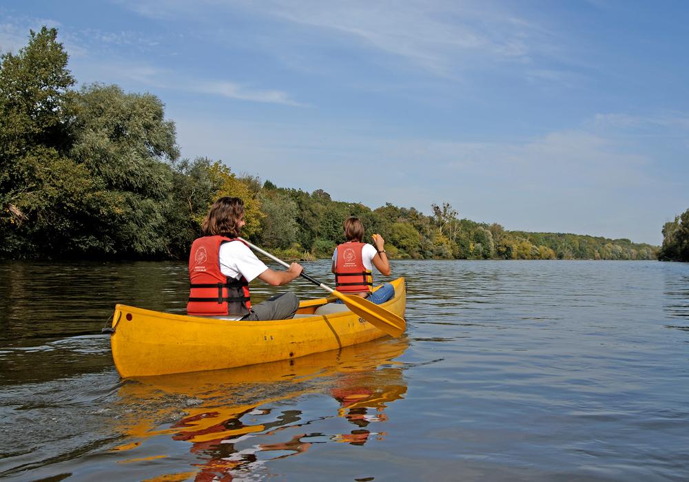 Canoë sur la Loire ©Ch.Goupi