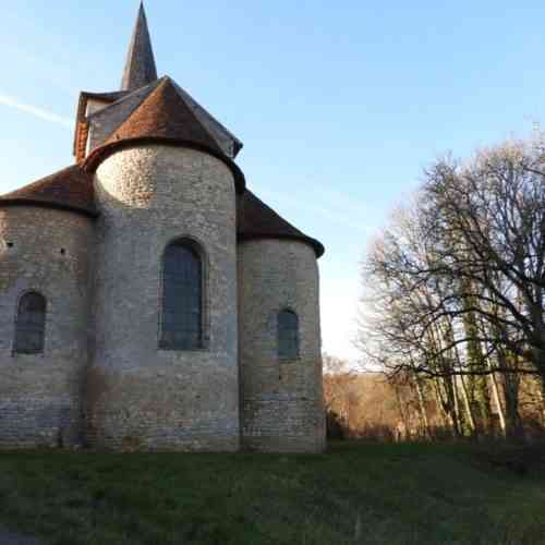 Eglise Champvoux ©Pays Charitois