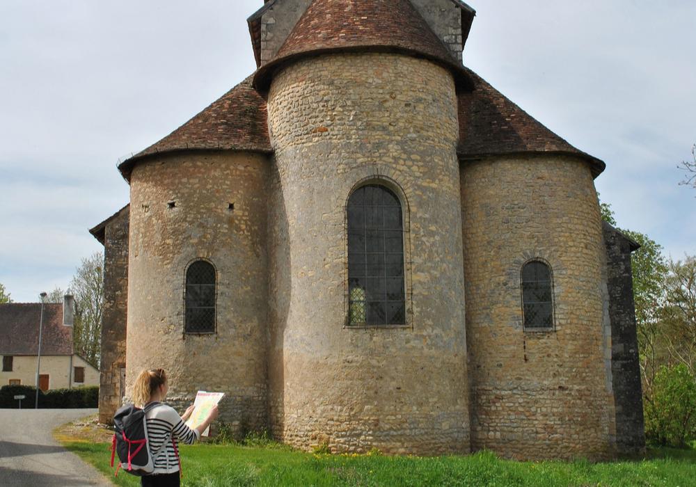 Eglise clunisienne de Champvoux ©OTLesBertranges