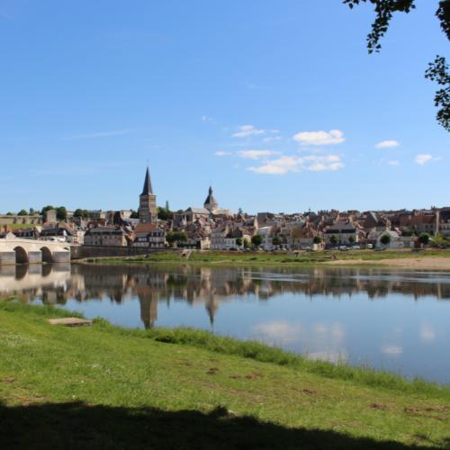 Vu de La Charité-sur-Loire
