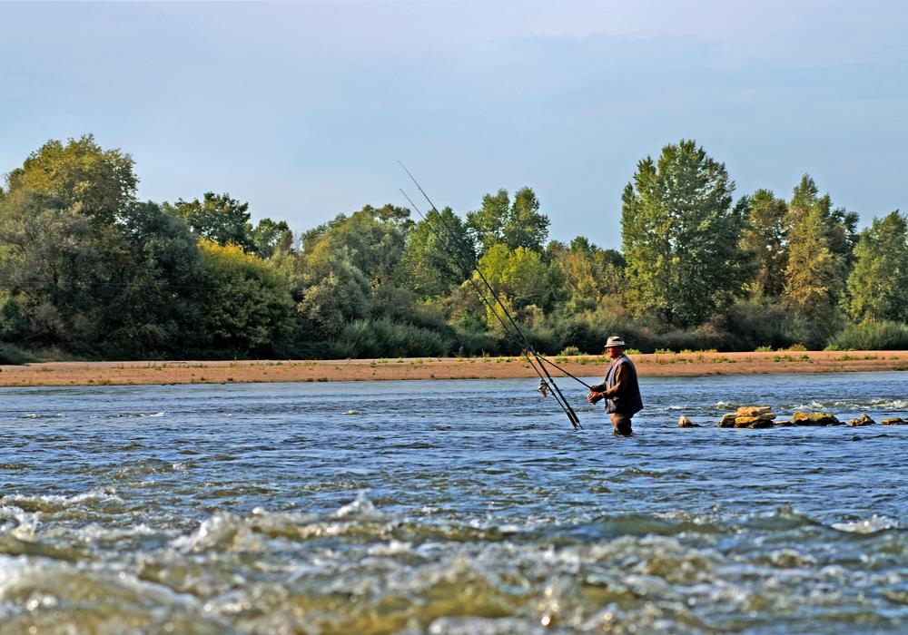 Pêche sur La Charité-sur-Loire ©Ch.Goupi